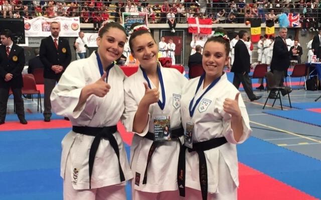 Squadra Junior Campione d'Europa WUKF