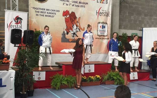 Bruognolo Elisa bronzo individuale junior